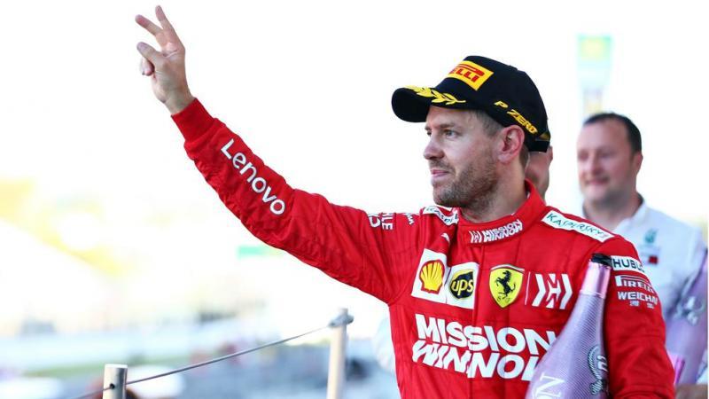 Sebastian Vettel, hari-hari terakhir di Prancing Horse. (Foto: beinsports)