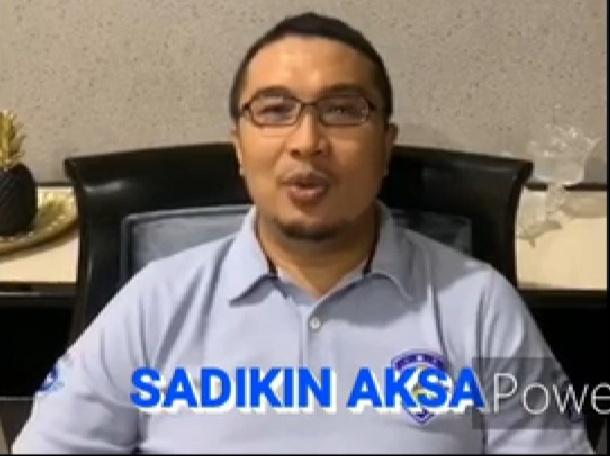 Ketum IMI Pusat Sadikin Aksa memuji pelaksanaan Ramadhan Balap Indonesia 2020. (Foto : bs)