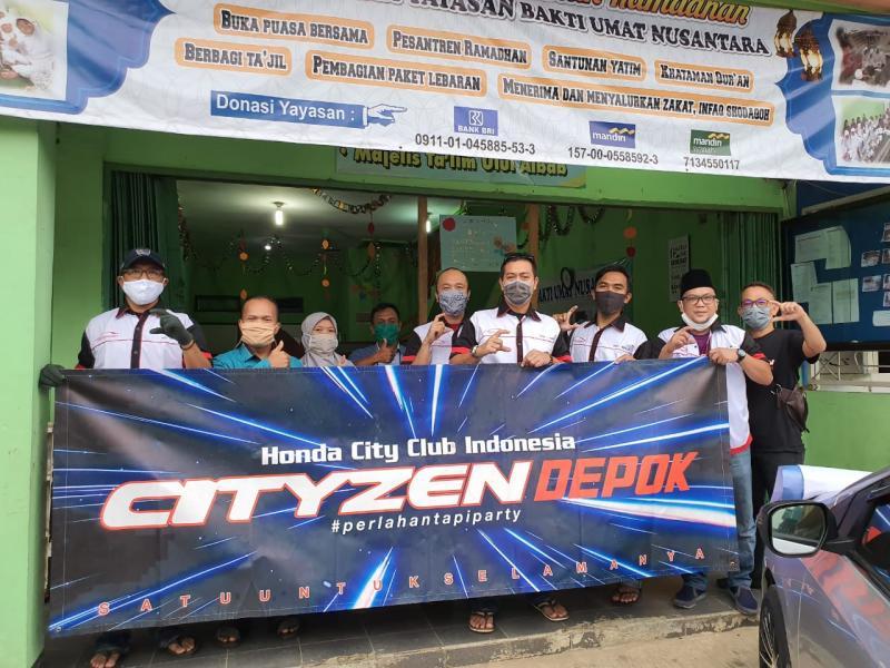 Kegiatan ini juga dilakukan secara serentak pada seluruh chapter CITYZEN di Indonesia pada tanggal 9 dan 10 Mei 2020.