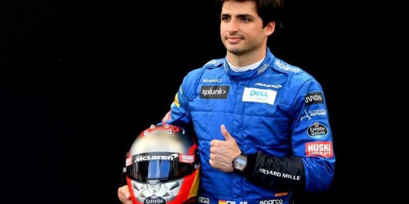 Carlos Sainz, pembalap muda yang paling sesuai keinginan Piero Ferrari. (Foto- afp)