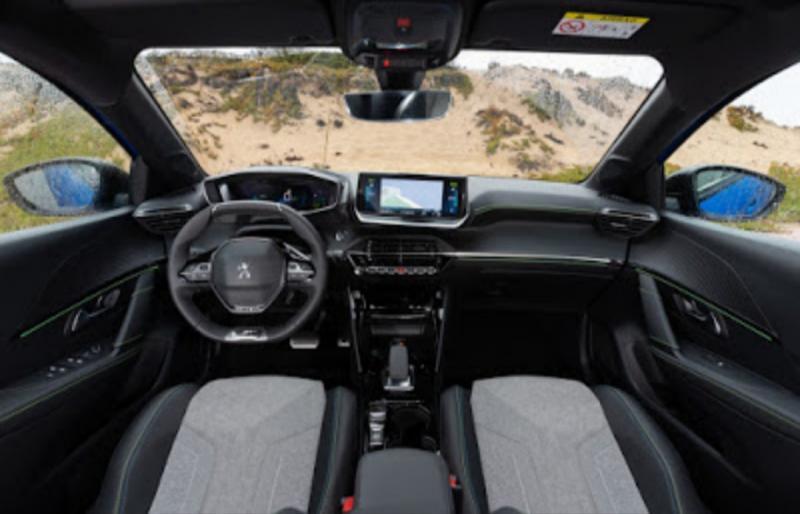 Peugeot i-cockpit, karakter desain interior mobil futuristik Peugeot