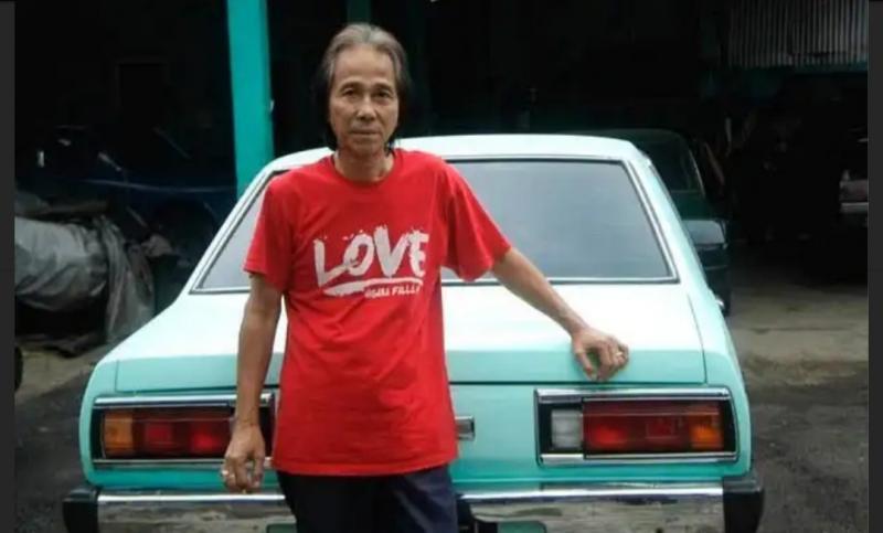 Mantan pembalap Sidarto SA didiagnosa pneumonia, dirujuk ke RS Persahabatan Jakarta. (foto : otoblitz)