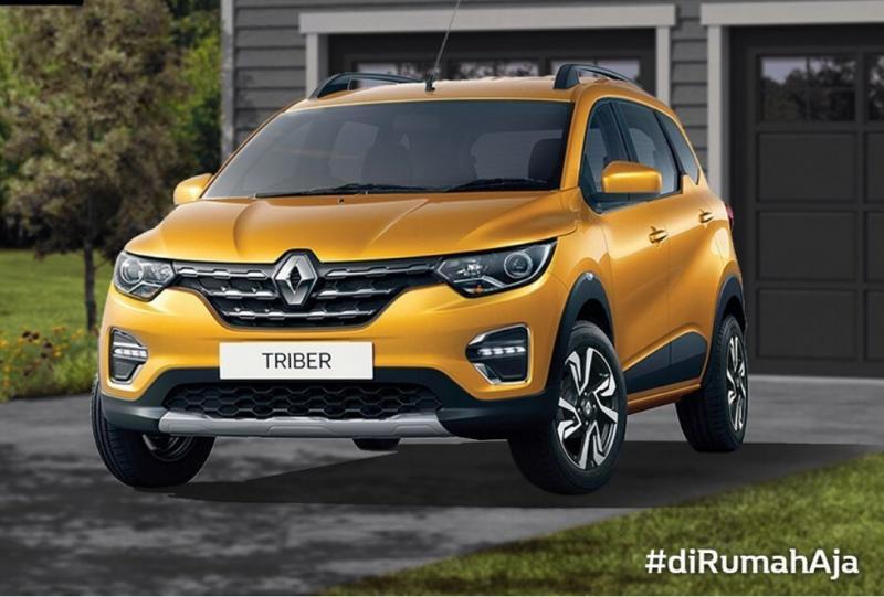 Renault Triber menawarkan keunggulan dengan kompartemen mesin yang sudah dioptimasi dan kelapangan terbaik.