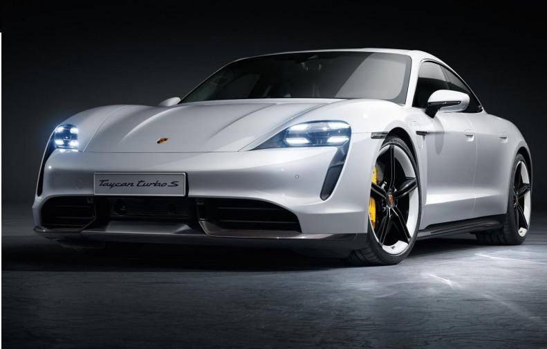 Porsche Taycan, model mobil listrik produksi massal pertama Porsche yang menjadi terobosan pabrikan sportcar legendaris ini.