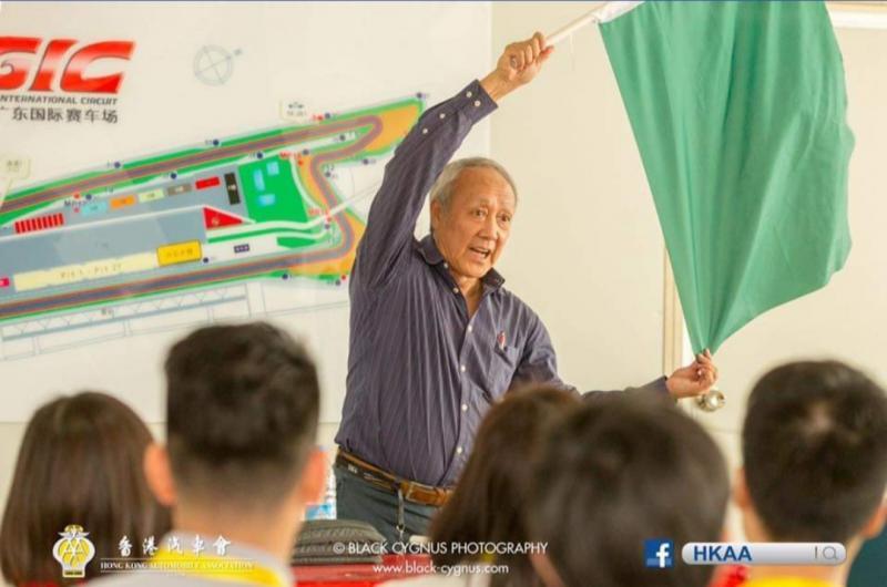 Danny Stacy Chau, legenda balap mobil Hongkong itu telah berpulang.