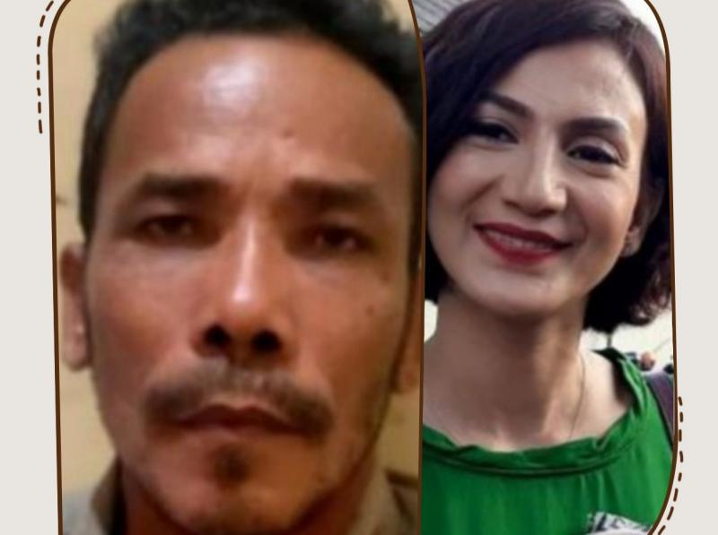 M Nuh asal desa Manggis Tanjung Jabung Jambi dan Wanda Hamidah, menyayangkan kejadian lelang itu terjadi. (kolase)