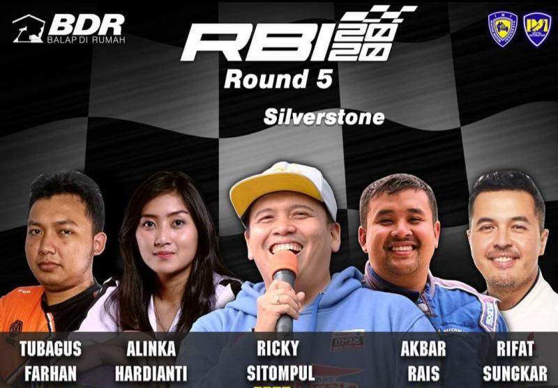 Rifato ramaikan grand final kejuaraan balap virtual Ramadhan Balap Indonesia 2020 malam ini