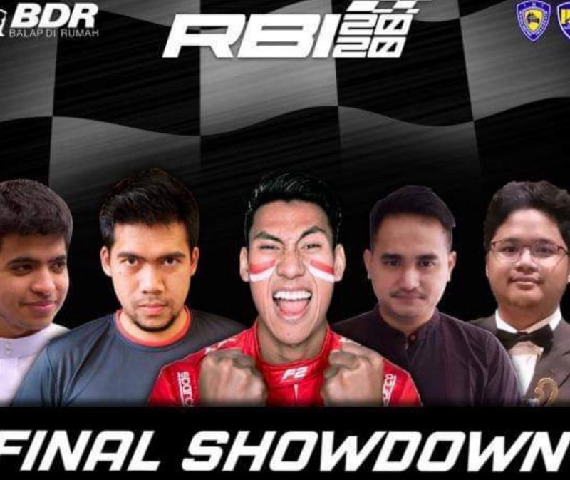 Dari kiri Fickry Segeir, Arwin Taruna, Sean Gelael, Jaka Siswoyo dan Attaya Kenzie, akan unjuk dalam perebutan juara umum Group A RBI 2020.