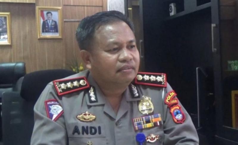 Kombes Pol Andi Azis Nisar Dirlantas Polda Kalimantan Selatan, wilayahnya zero mudik. (foto : ist)