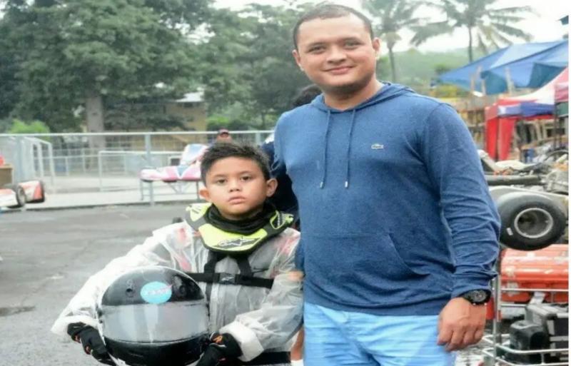 Rizal Sungkar, fenomena baru balap virtual dengan turun gunungnya pembalap senior