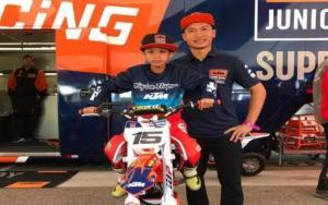 Ryan Devano Ardiansyah saat mengikuti event AMA Supercross di Amerika Serikat akhir Februari lalu