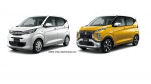 Mitsubishi eK X dan eK Wagon dilengkapi dengan teknologi driver assistance. (MMKSI)