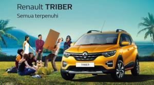 Renault Triber diimport dari India untuk pasar Indonesia. Faktor ini menjadi penyebab terlambatnya unit Triber ke tangan konsumen tanah air.