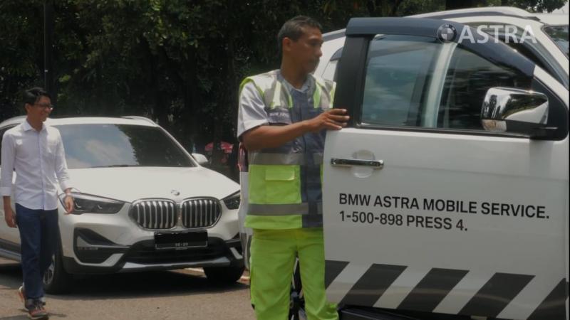 layanan ini adalah salah satu usaha BMW Astra untuk selalu berada di sisi pelanggan dengan memberikan layanan menyeluruh mulai dari Beli, Service dan Jual di Astra. (BMW Astra)
