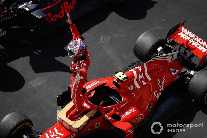 Ini SF71H yang bawa kemenangan terakhir Kimi Raikkonen di F1, kini jadi milik pribadi. (Foto: motorsport)