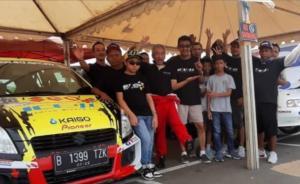 Wijaya Kusuma, Yoyok Cempe dan kru tim Suzukimotorsport.id, gak bisa ikut reli jika batasan soal umur tidak direvisi