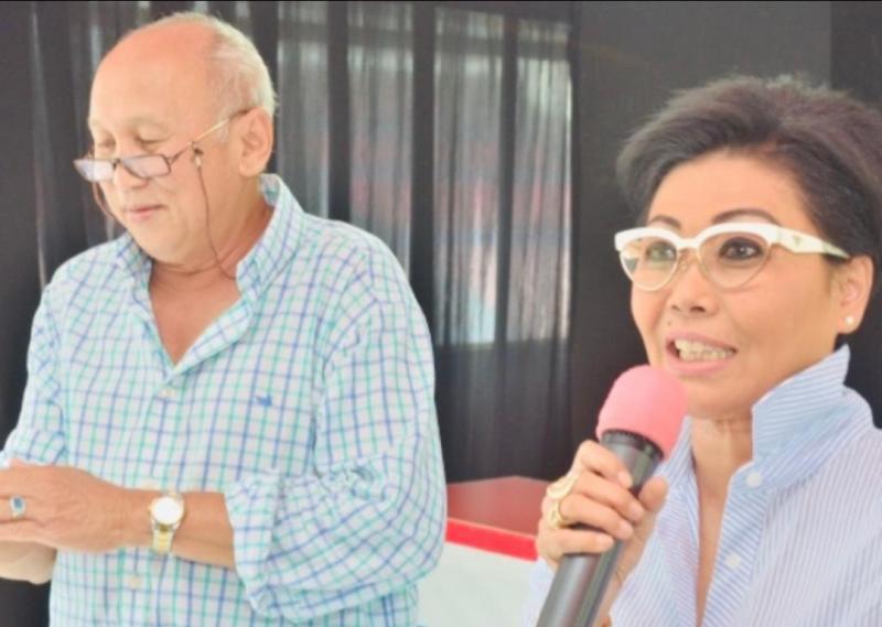 Lola Moenek dan H. Tinton Soeprapto, mohon pembatasan usia pembalap bisa dipertimbangkan oleh IMI Pusat. (foto : ist) (foto : bs)