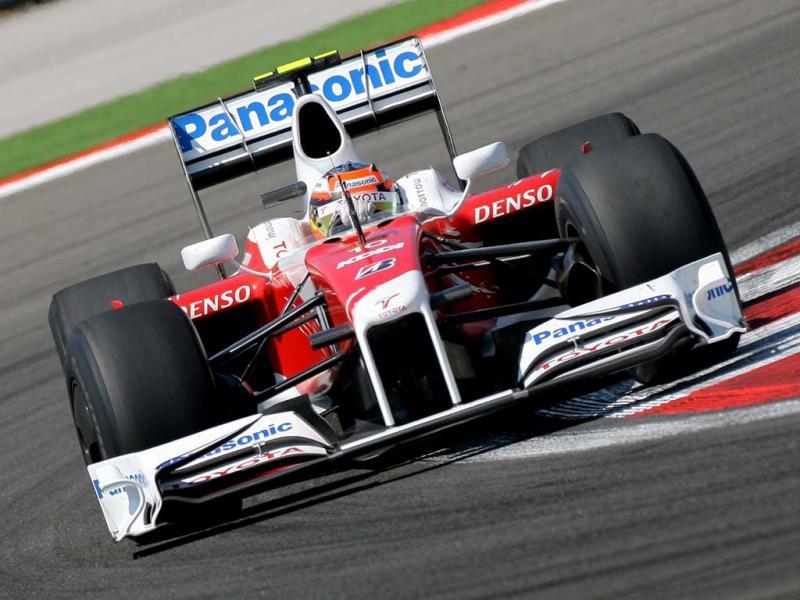 TF109 yang melambungkan Toyota ke 5 Besar konstruktor F1 2009. (Foto: planetf1)