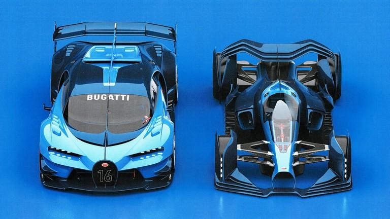 Proyek penerus Bugatti Vision GT yang dikerjakan mantan desainer magang ini terlaksana di bawah supervisi tim desain pabrikan. (ist)