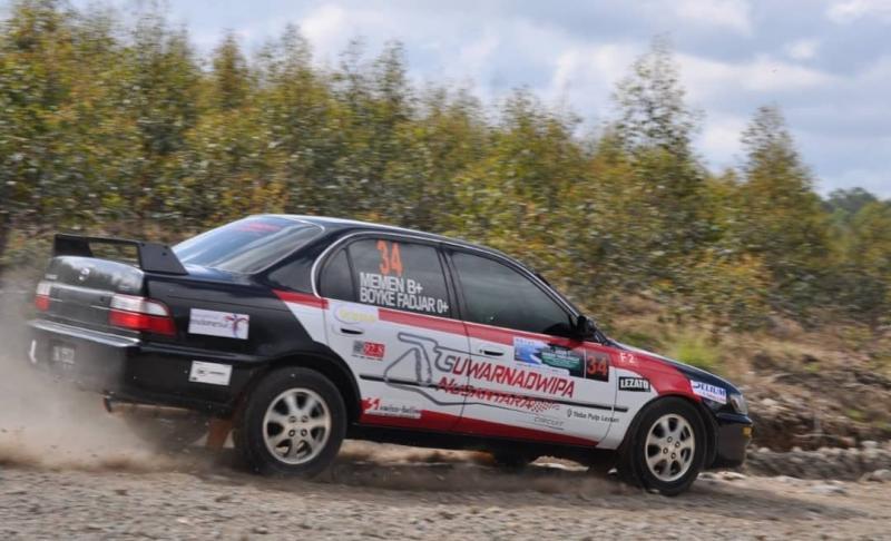Lintasan dan Special Stage menantang telah disiapkan untuk Kejurnas Rally 2020 di Muara Bungo, Jambi. (foto : ist)