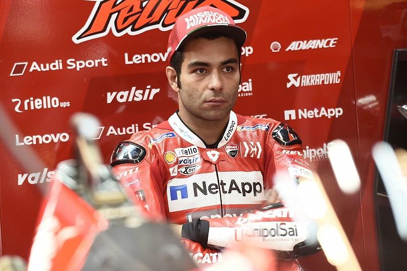 Danilo Petrucci, out dari Ducati terancam tak punya tempat di MotoGP 2021. (Foto: autosport)