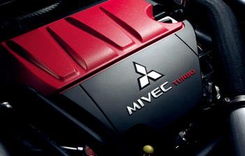 Mesin unggulan Mitsubishi saat ini, 4B11 MIVEC twin-scroll turbo engine. (MMKSI)