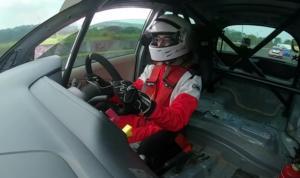 Amato Rudolph, terus mengasah skill di ajang balap mobil ISSOM