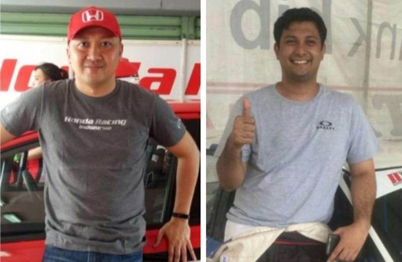 Alvin Bahar (kiri) dan Umar Abdullah, setuju opsi terkait durasi balap tahun ini dari IMI Pusat. (foto : bs)