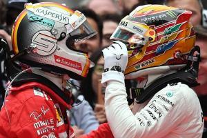 Sebastian Vettel - Lewis Hamilton, bersatu di Mercedes 2021? (Foto: grandprix247)
