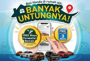 Untuk semakin memudahkan konsumen melakukan transaksi secara online, Honda juga menggandeng beberapa situs e-commerce.
