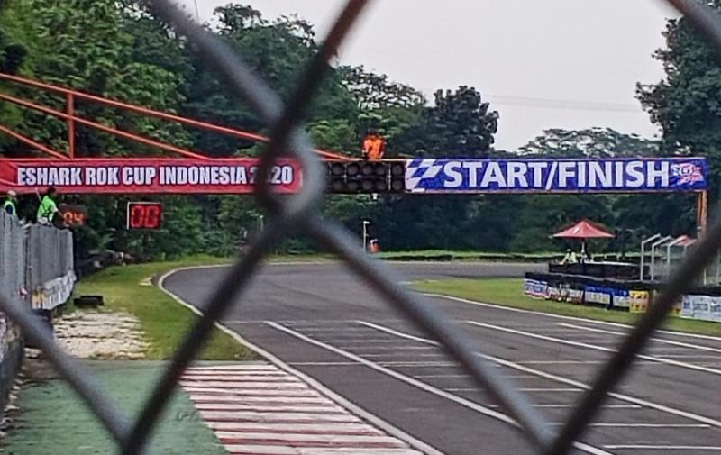 Sentul International Karting Circuit Bogor menjadi salah satu venue Oneprix dan kejurnas gokart dengan protokol New Normal. (foto : bs)