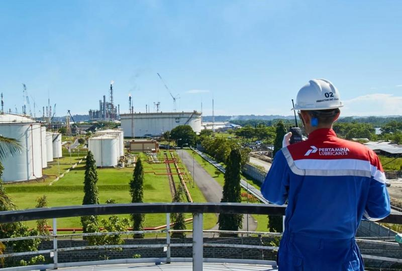 Protokol New Normal berlaku di seluruh wilayah operasi Pertamina Lubricants, termasuk di Kantor Pusat Oil Center, 3 Production Unit, 24 Depot Supply Point dan 7 Sales Region. (pertaminalub)