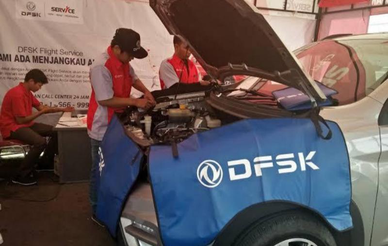 Layanan ekstra dari DFSK untuk konsumen dan tenaga medis