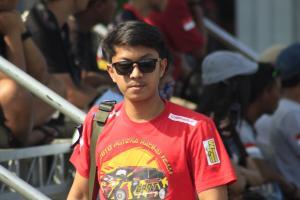 Anandyo Dwiki, juara nasional Slalom Auto Gymkhana 2019 berharap masih ada event di musim ini.