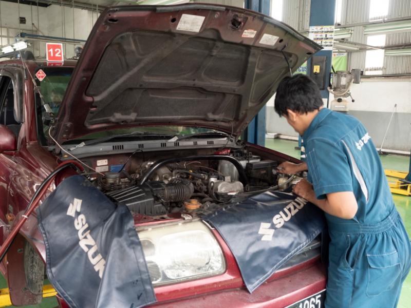Menerapkan Suzuki Hygiene Commitment, Suzuki Indonesia memberikan kiat untuk merawat dan mempersiapkan kendaraan dalam masa PSBB transisi.