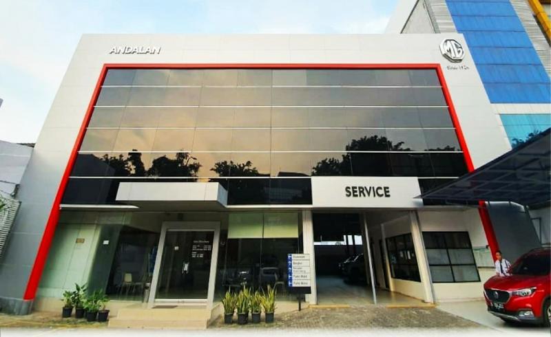Salah Satu dealer 3S MG Motors Indonesia di kawasan Pondok Indah, Jakarta Selatan. (ist)