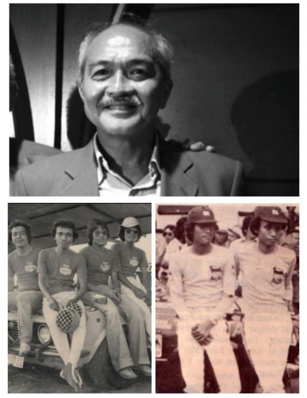 Beng Soeswanto (atas), AM Suseto, AM Susmono, Eddy Lukita dan Richard Wuisan bawah
