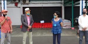 Sirkuit Sentul Salurkan Bantuan 2.100 Paket Sembako Dari Kemensos Kepada Warga Terdampak Covid