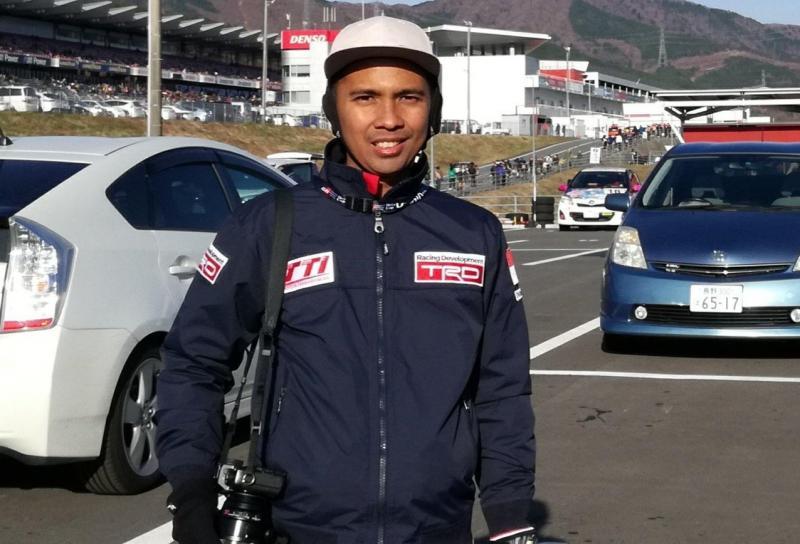 Agung Lawerissa, fotografer andalan Toyota Team Indonesia. (foto : ist)