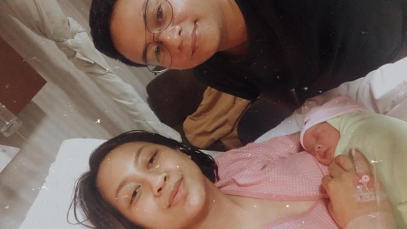 Adi Indiarto, bayi Manika Kila Magani dan Soraya Miyani.