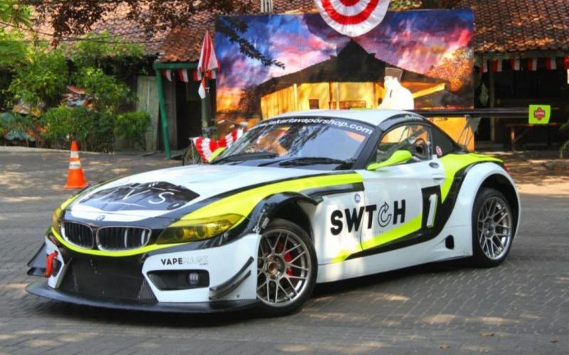 Budiyanto akan andalkan BMW Z4 untuk kelas Euro 3000 Pro. (Foto : mobilinanews)