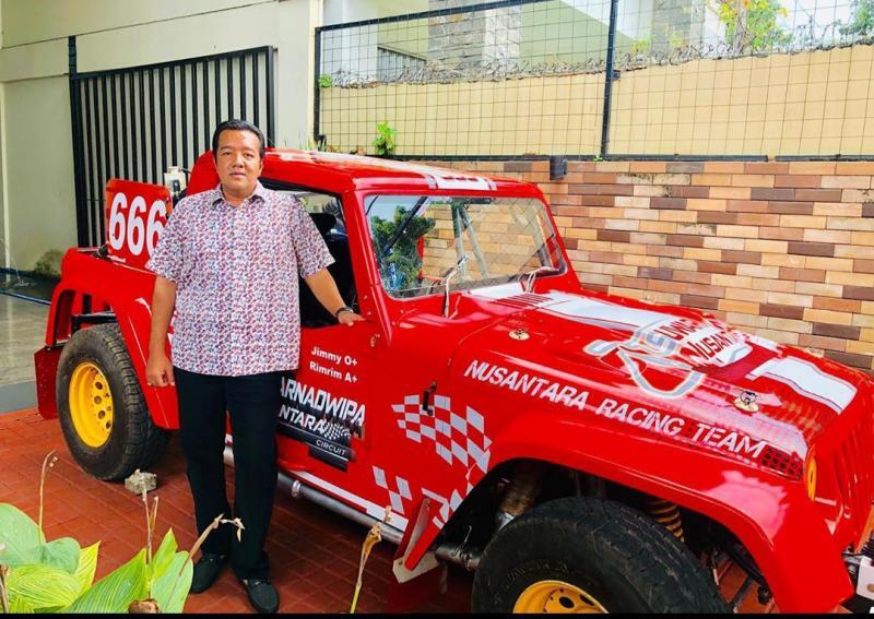 H Jimmy Syamsudin akan latihan bareng dulu di Suwarnadwipa Nusantara Circuit Muara Bungo.
