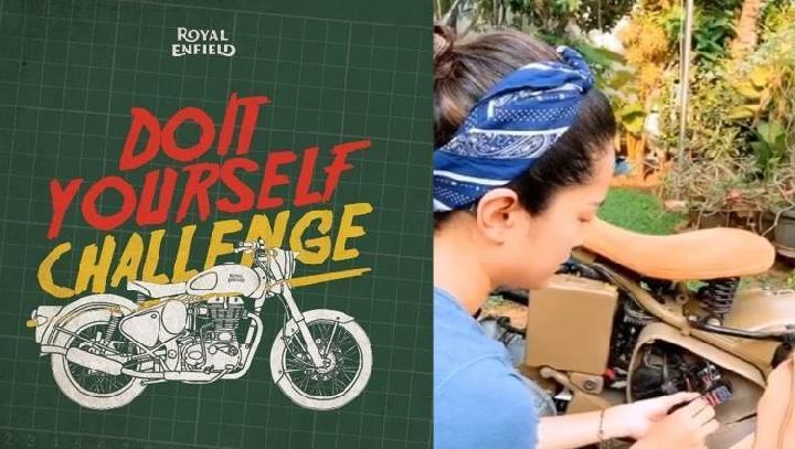 Kampanye Do it Yourself Royal Enfield Indonesia. (ist)