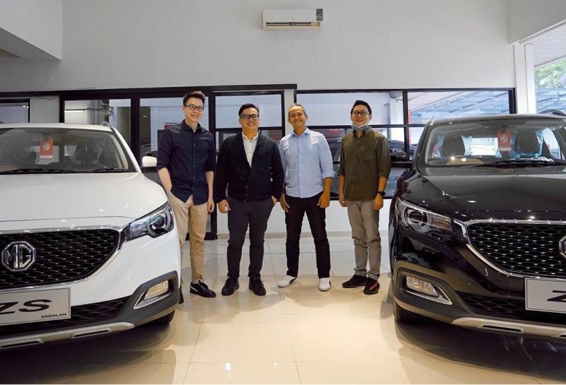 MG Motor Indonesia belum lama ini mendirikan dua outlet yang mengadopsi teknologi digital. (ist)