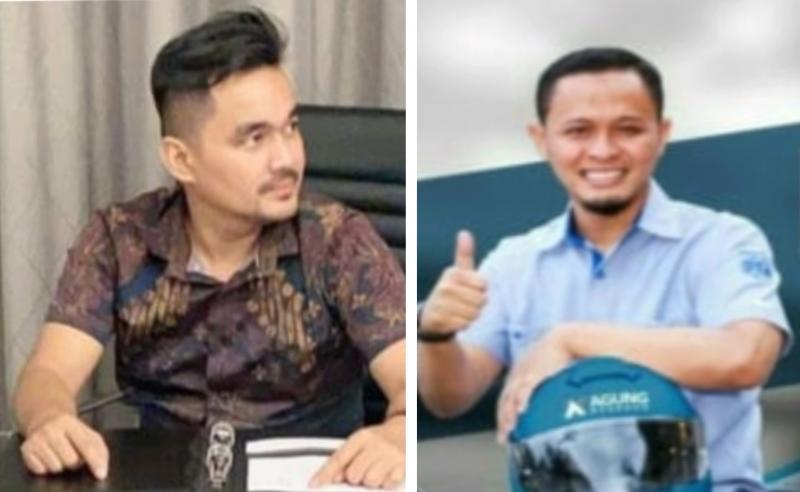 Defri Nasli (kiri) dan Agung Nugroho, menolak Munas IMI 2020 dengan daring karena tidak sesuai AD/ART IMI. (foto : kolase)