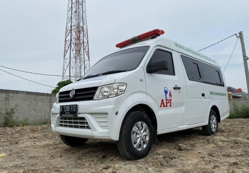 DFSK Super Cab Ambulance yang andal dipakai ke berbagai medan dengan harga relatif ekonomis