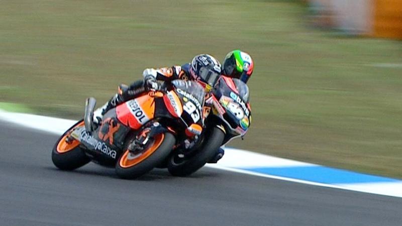Rivalitas Pol Espargaro dan Marc Marquez yang acap liar saat berkompetisi di Moto2. (Foto: youtube)