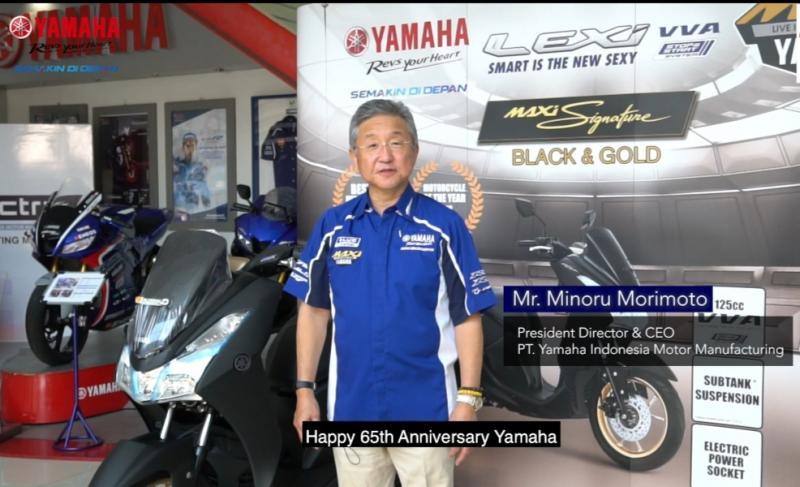 Minoru Morimoto, filosofi Kando menjadi inspirasi di hari ulang tahun ke-65 Yamaha pada 1 Juli kemarin