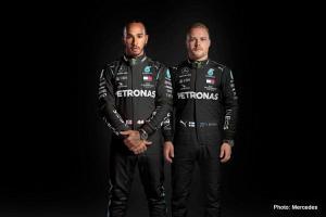 Ini seragam baru Lewis Hamilton dan Valtteri Bottas memasuki serial balap F1 2020 di Austria. (Foto: mercedes)