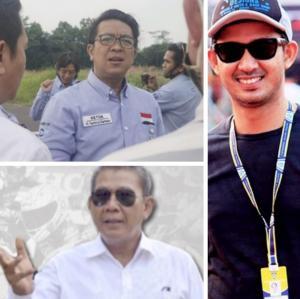 Searah jarum jam dari atas Fachrul Sarman, Tubagus Roy F Basuni dan Syafruddin Chay. (foto : kolase)